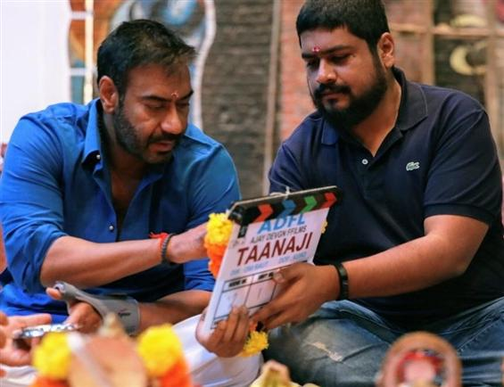 Ajay Devgn begins shooting for Taanaji!