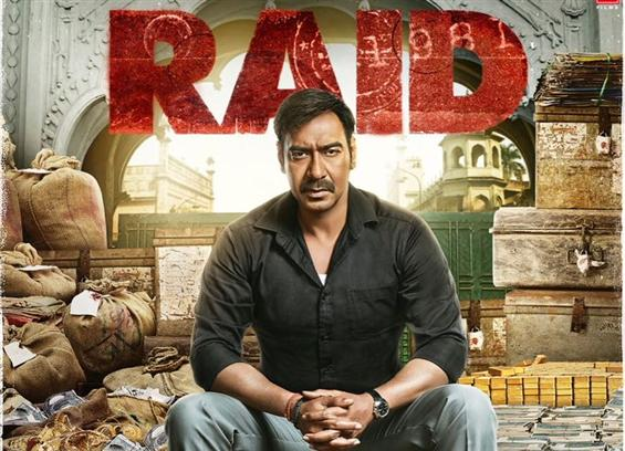 Ajay Devgn means business in Raid First Look