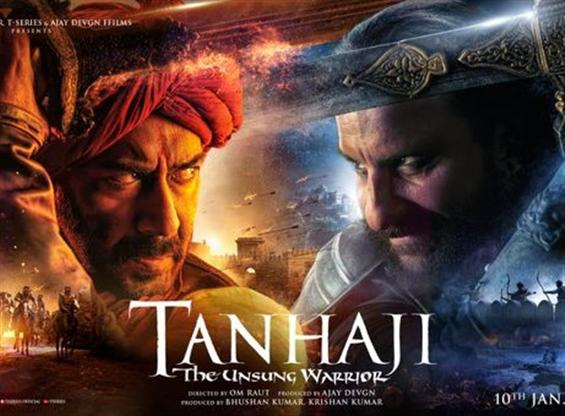 News Image - Ajay Devgn-Saif Ali Khan in 3D war movie 'Tanhaji: The Unsung Warrior' image