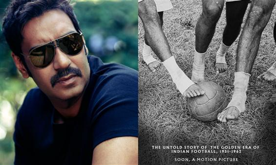 Ajay Devgn to essay the role of football coach Sye...