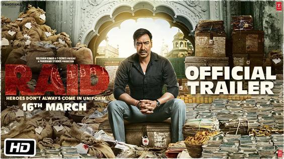 Ajay Devgn's Raid Trailer