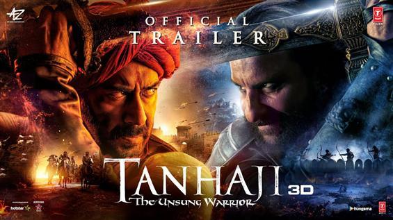 Ajay Devgn's Tanhaji Trailer