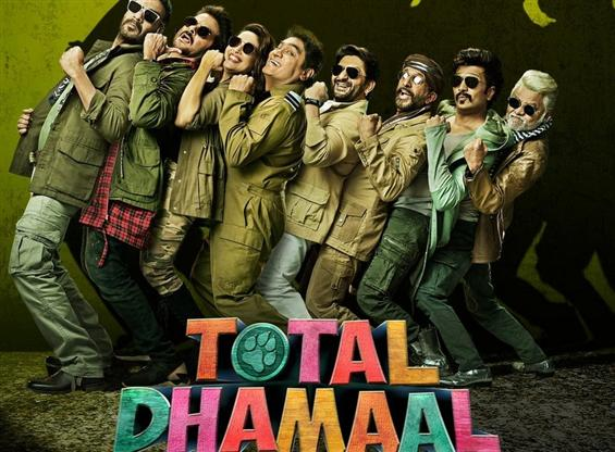Ajay Devgn's Total dhamal first look poster