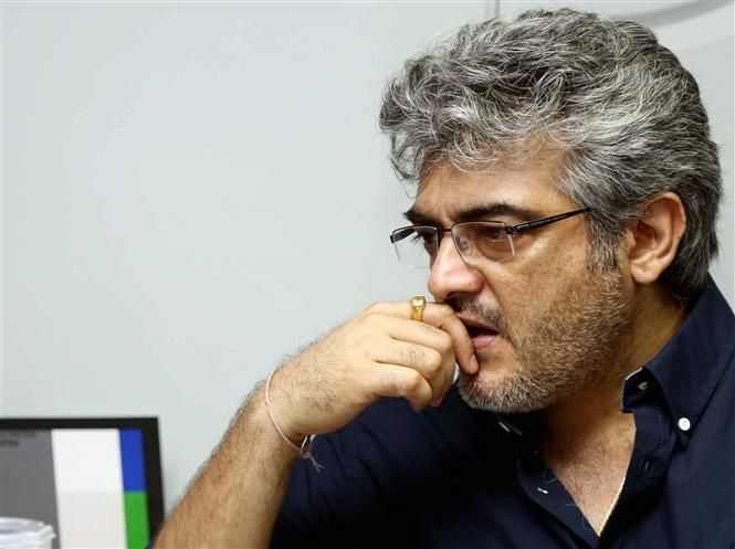 Ajith injured again during Valimai shooting! To take a break!