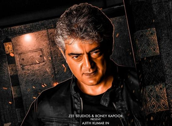 Ajith starrer Valimai First Look Release plans