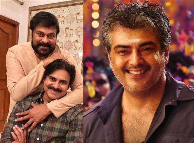 Ajith's Vedalam Telugu Remake gets Chiranjeevi after Pawan Kalyan!