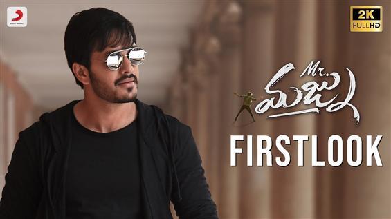 Akhil 3 Titled Mr. Majnu, First Look Released!