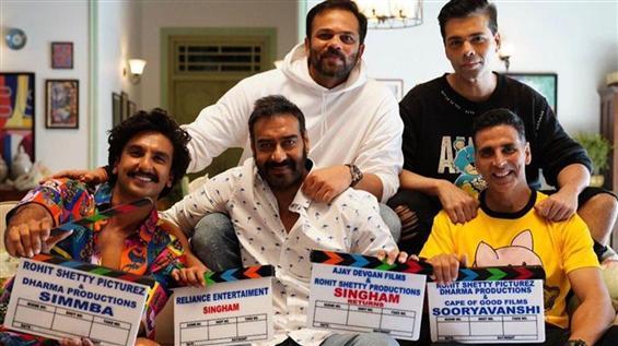 Akshay Kumar, Ajay Devgn & Ranveer Singh team up Sooryavanshi climax