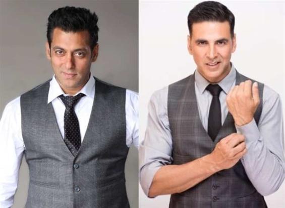 Akshay Kumar and Salman Khan to lock horns at the box office on Eid 2020