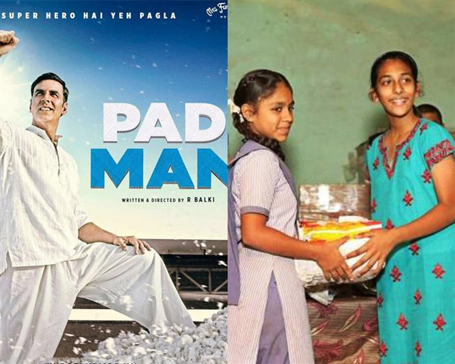 Akshay Kumar's Padman inspires Dubai teen to donate Santinary Pads in India!