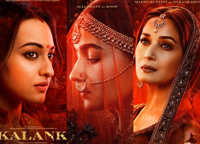 Alia Bhatt, Sonakshi Sinha & Madhuri Dixit as the Women of Kalank!