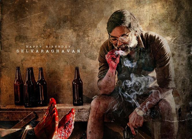All eyes on Saani Kaayidham new poster feat. Selvaraghavan!
