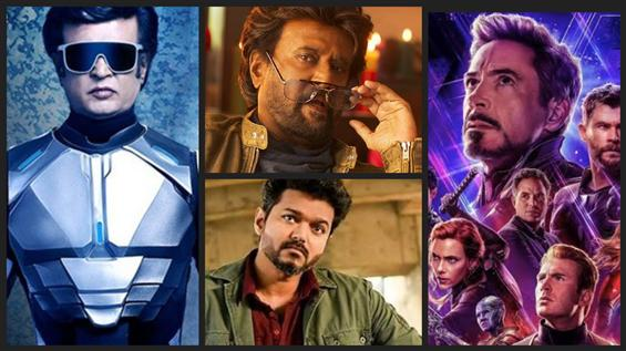 All-Time Top 10 Chennai City Opening Day Grosser - Avengers at No.6!