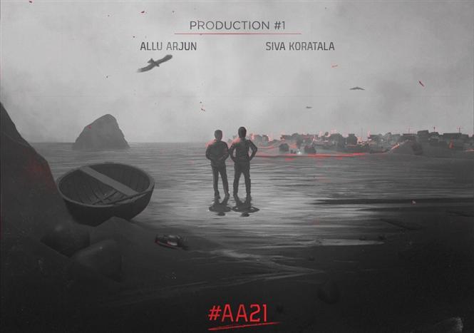 Allu Arjun announces AA21 with Koratala Siva!