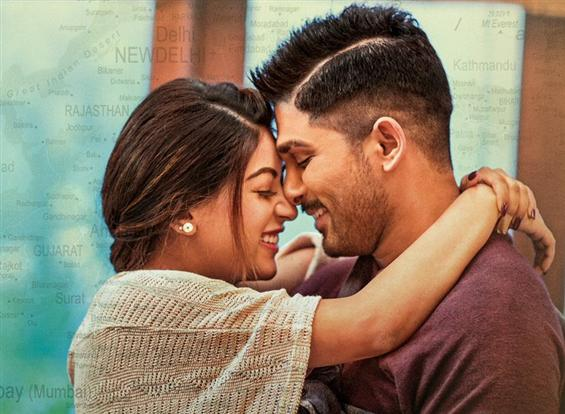 News Image - Allu Arjun Lover Also Fighter Also Song from Naa Peru Surya image