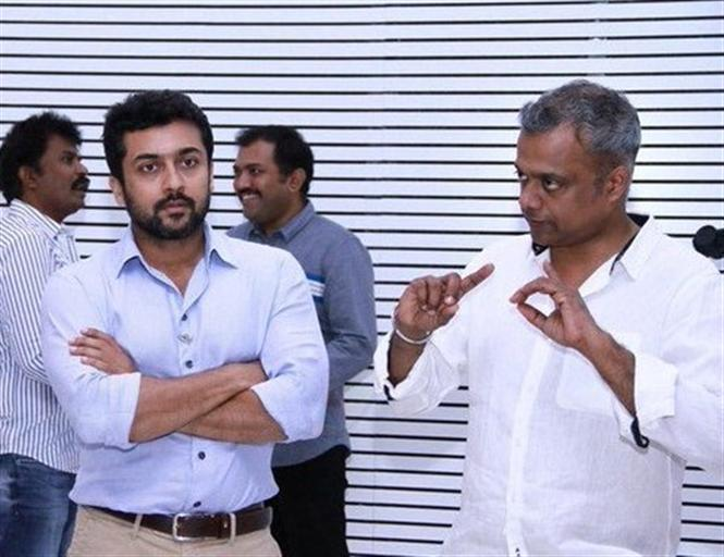 Amidst ENPT release issue, Gautham Menon flies to London for Suriya's film!