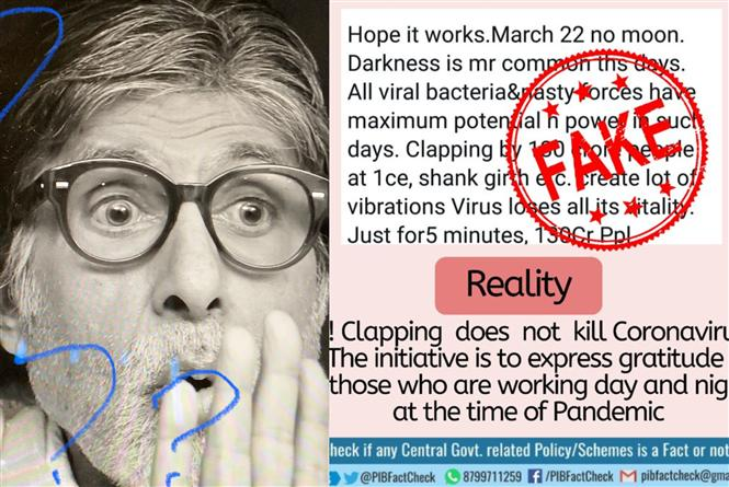 Amitabh Bachchan Shares Clapping/CoronaVirus Theory, Twitter Not Amused!