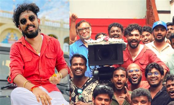 Anbarivu shoot wrapped! Hiphop Tamizha Aadhi plays...
