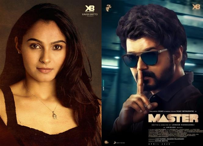 Andreah Jeremiah on car-chase sequence in Master!