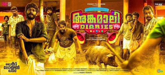 Angamaly Diaries Review - Of Dusty Bylanes, Pork Tales and Craziness