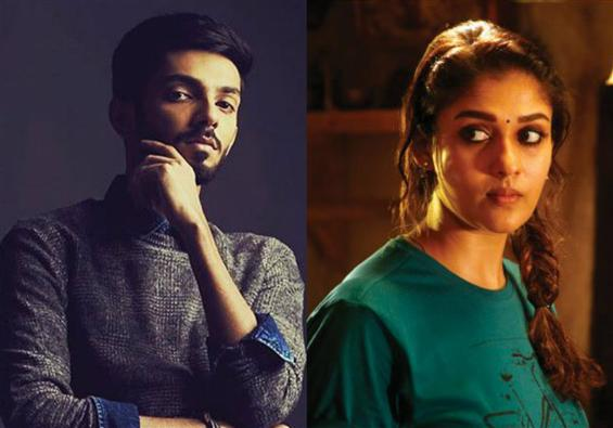 Anirudh to play Nayanthara's pair in Kolamaavu Kok...
