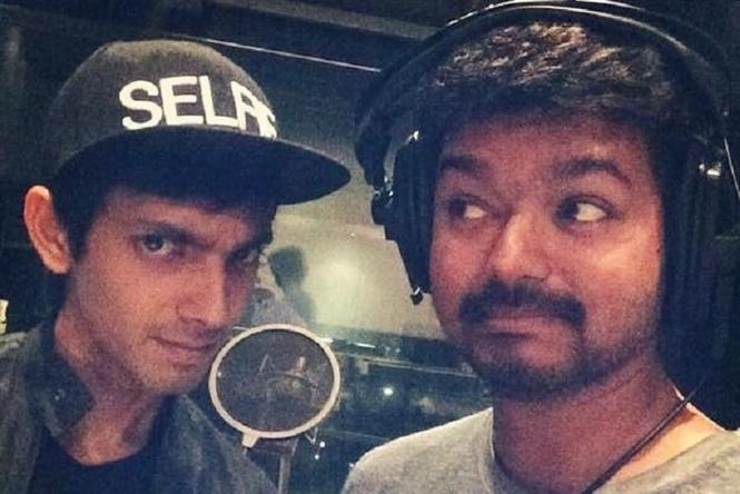 Anirudh to score again for Vijay after Kaththi?