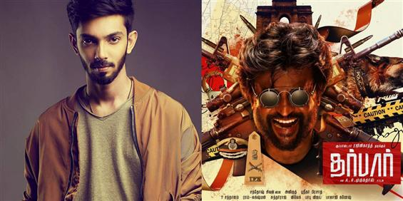 Anirudh updates on Darbar Motion Poster release da...