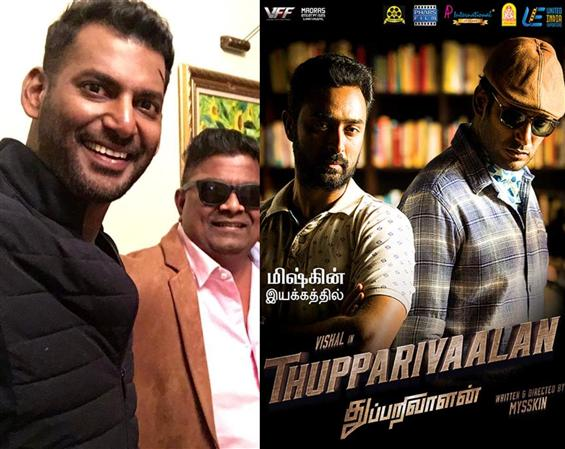 Another sequel for Vishal ! Mysskin narrates Thupp...