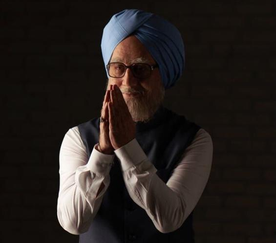 Anupam Kher's look in The Accidental Prime Minister, film starts rolling