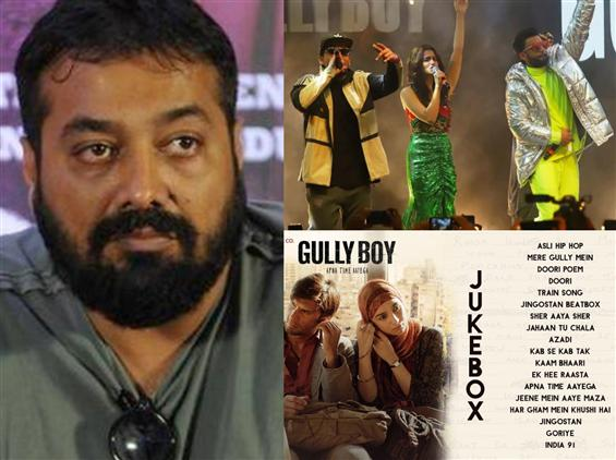 Anurag Kashyap all praises for Gully Boy Jukebox
