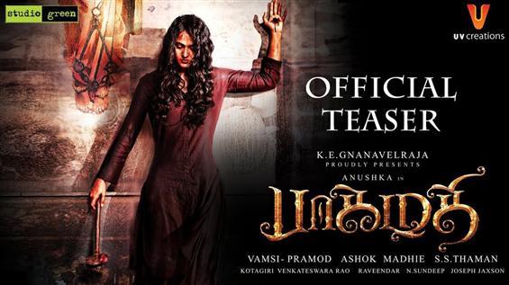 Anushka starrer Bhaagamathie Teaser