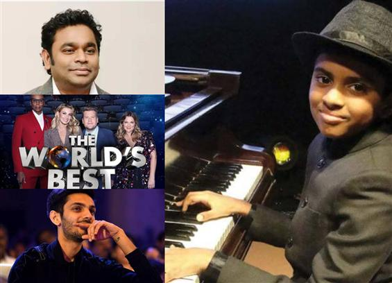 A.R. Rahman, Anirudh laud The World's Best child p...