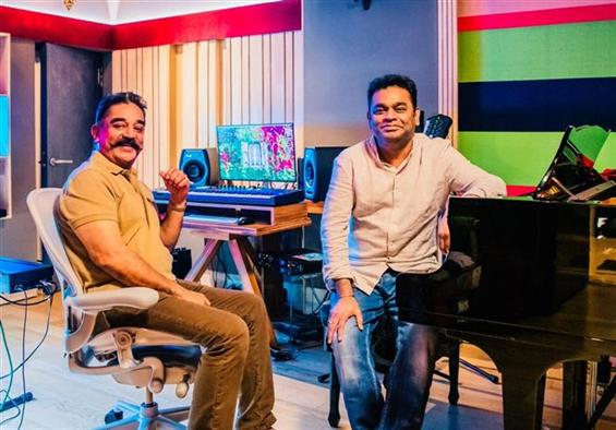 A.R. Rahman, Kamal Haasan team up for Thalaivan Ir...