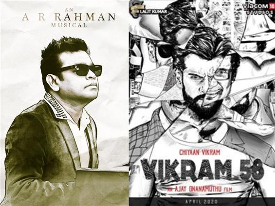 A.R. Rahman on board for Vikram 58!