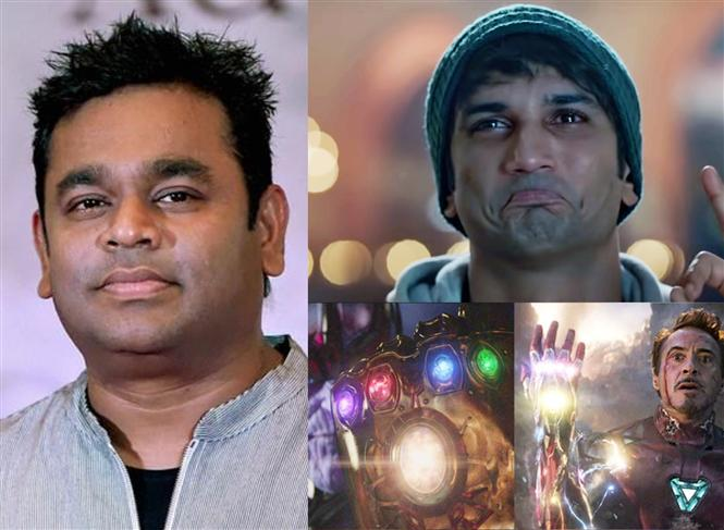 A.R. Rahman sees Dil Bechara beating Avengers: End Game as love for Sushant!