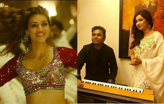 AR Rahman, Shreya Ghoshal's Param Sundari enters B...