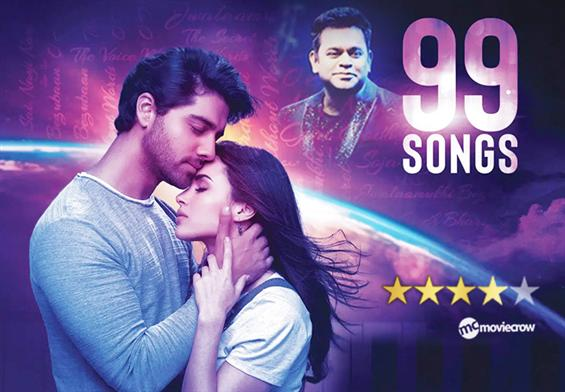 AR Rahman's 99 Songs - Music Review