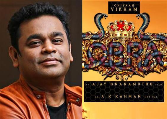 A.R. Rahman's BGM for Cobra Talk of the Town!