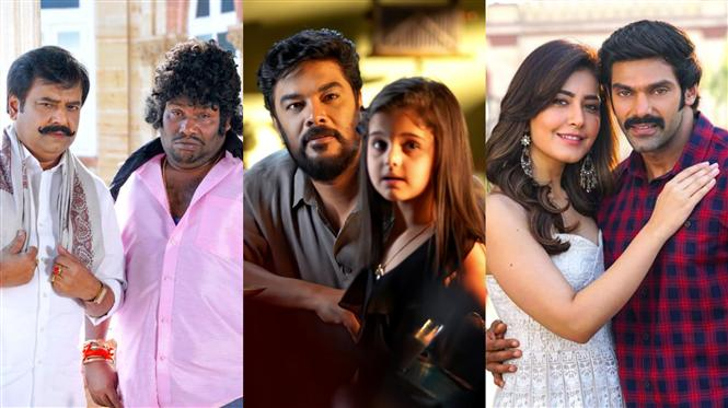 Aranmanai 3 gears up for theatrical release! New Stills Unveiled!