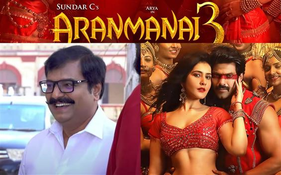 Aranmanai 3: New video song out feat. late actor Vivek!