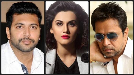 Arjun joins Jayam Ravi-Taapsee starrer Jana Gana M...