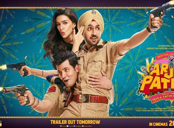 Arjun Patiala: New Posters released, Trailer to be unveiled tomorrow