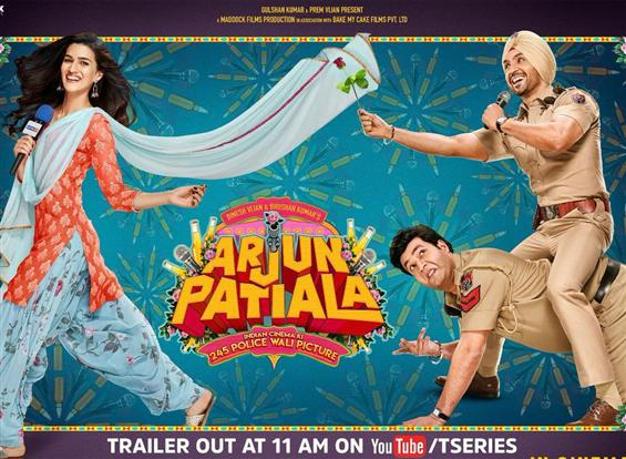 Arjun Patiala Trailer ft. Kriti Sanon, Diljit Dosanjh is hilarious