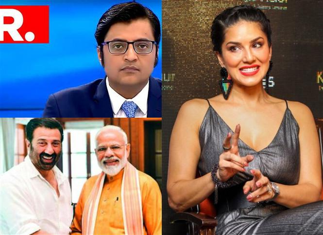 Arnab Goswami calls out Sunny Leone instead of Sunny Deol & Lok Sabha Election Counting Day was here for the hilarity!