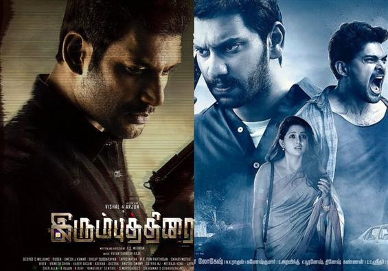 Arulnithi's Iravukku Aayiram Kangal & Vishal's Irumbu Thirai to clash at the box-office