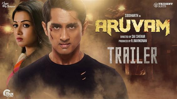 Aruvam Trailer: Siddharth fights evil as a food safety officer!