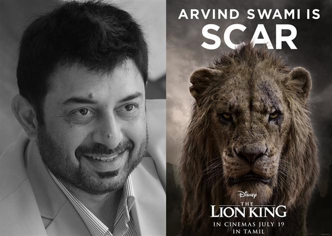 Arvind Swami joins The Lion King Tamil!