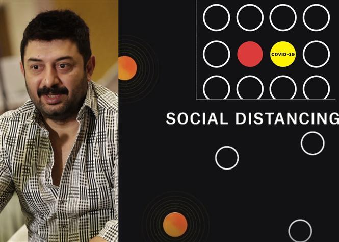 Arvind Swami Stresses on Social Distancing Via Vox's Covid19 Video!