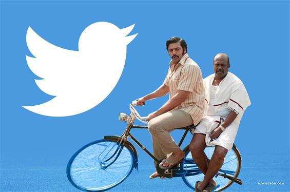 Arya introduces Pasupathy's Twitter handle Vaathiyaare style!