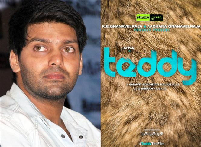 Arya's next titled Teddy, Film begins shooting at Chennai